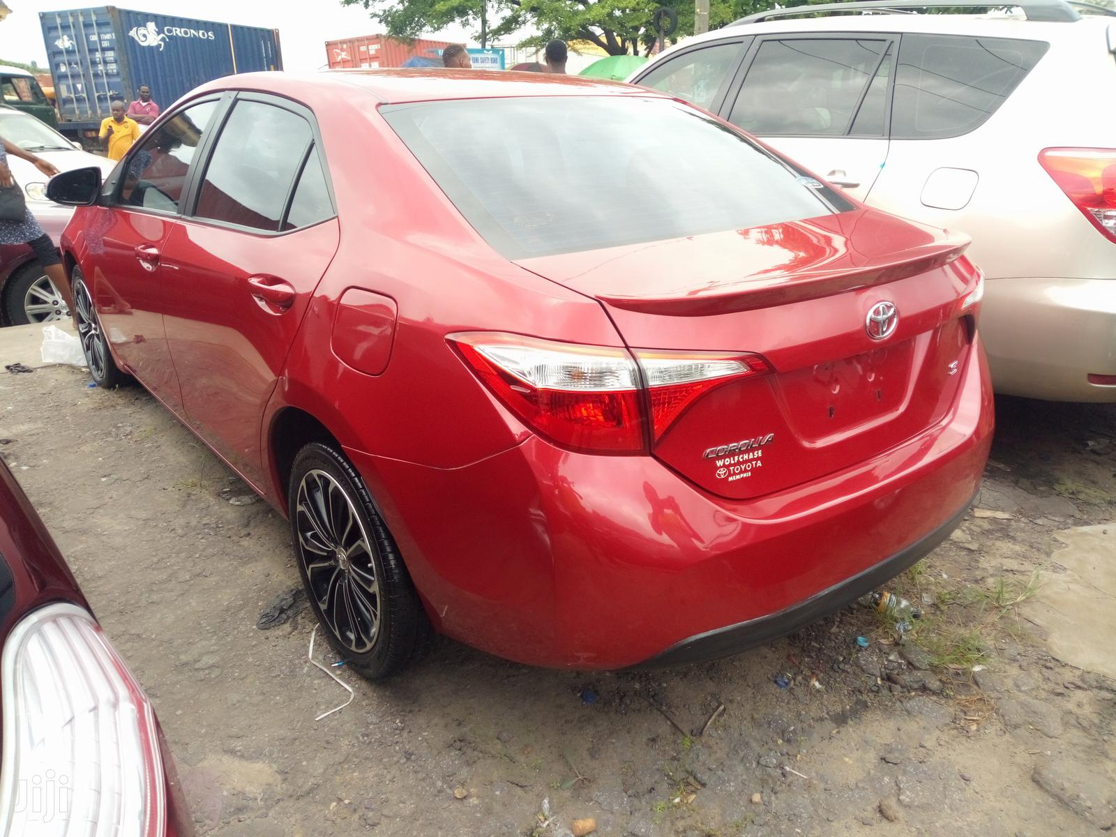 Toyota Corolla 2015 Red   Cars for sale in Apapa, Lagos State, Nigeria