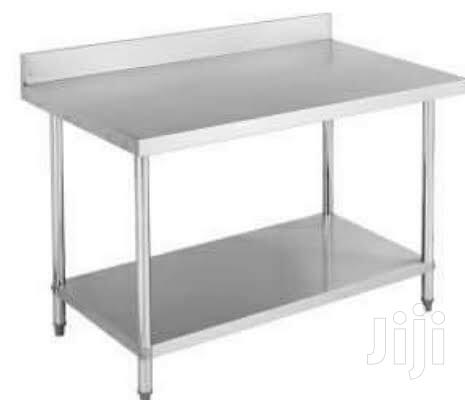 4ft Stainless Working Table