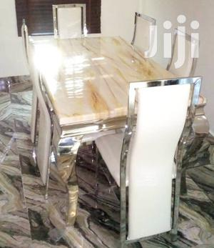 Quality Strong Six Seater Marble Dining Table   Furniture for sale in Abuja (FCT) State, Asokoro