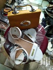White Sandal and Bag Combo | Shoes for sale in Abuja (FCT) State, Garki 2