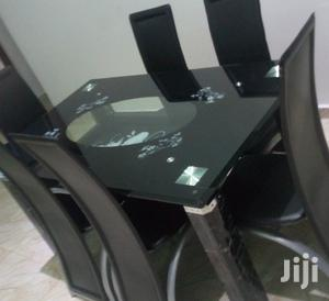 Quality Strong Six Seater Tinted Glass Dining Table | Furniture for sale in Delta State, Warri
