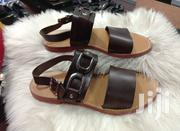 Brown Italian Brands Pam Sandals for Men of Class and Quality | Shoes for sale in Lagos State, Lagos Island
