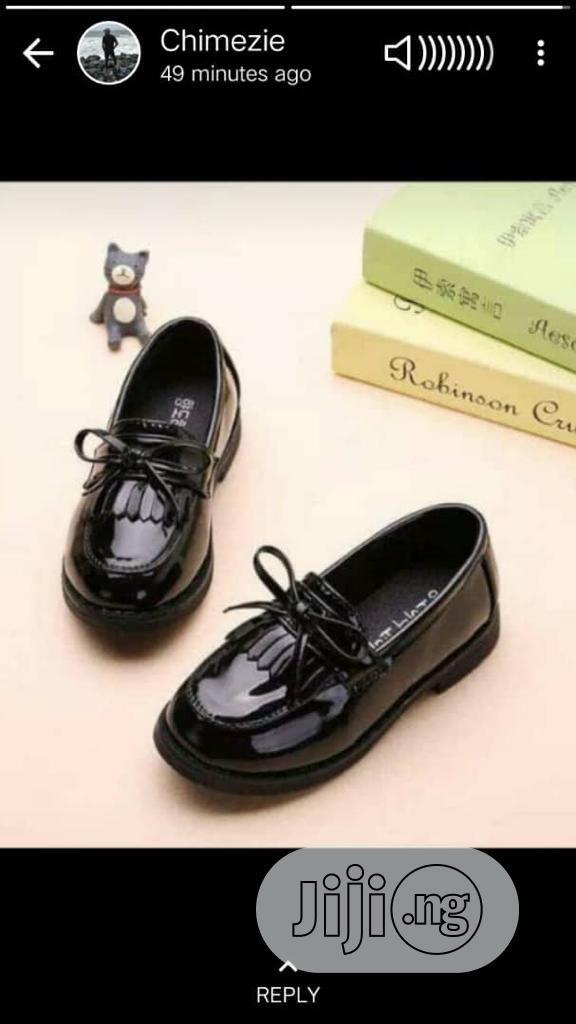 Black Dress Shoe for Boys