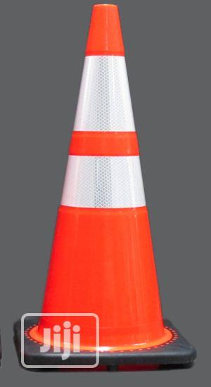 70 Cm PVC Traffic Cones BY HIPHEN SOLUTIONS | Safetywear & Equipment for sale in Gombe State, Gombe LGA