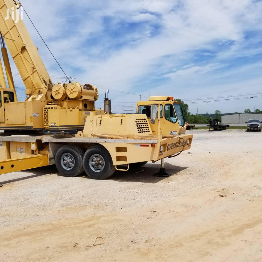 80tons Grove Crane Truck With LMI Systems