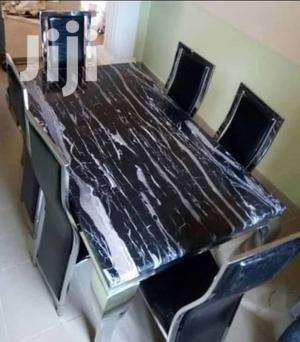 Quality Strong Six Seater Marble Dining Table | Furniture for sale in Imo State, Orlu