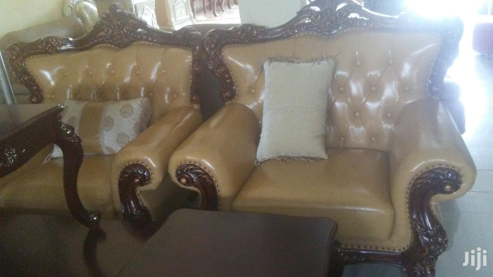 ,Original Italian Royal Skin Chair | Furniture for sale in Ikeja, Lagos State, Nigeria