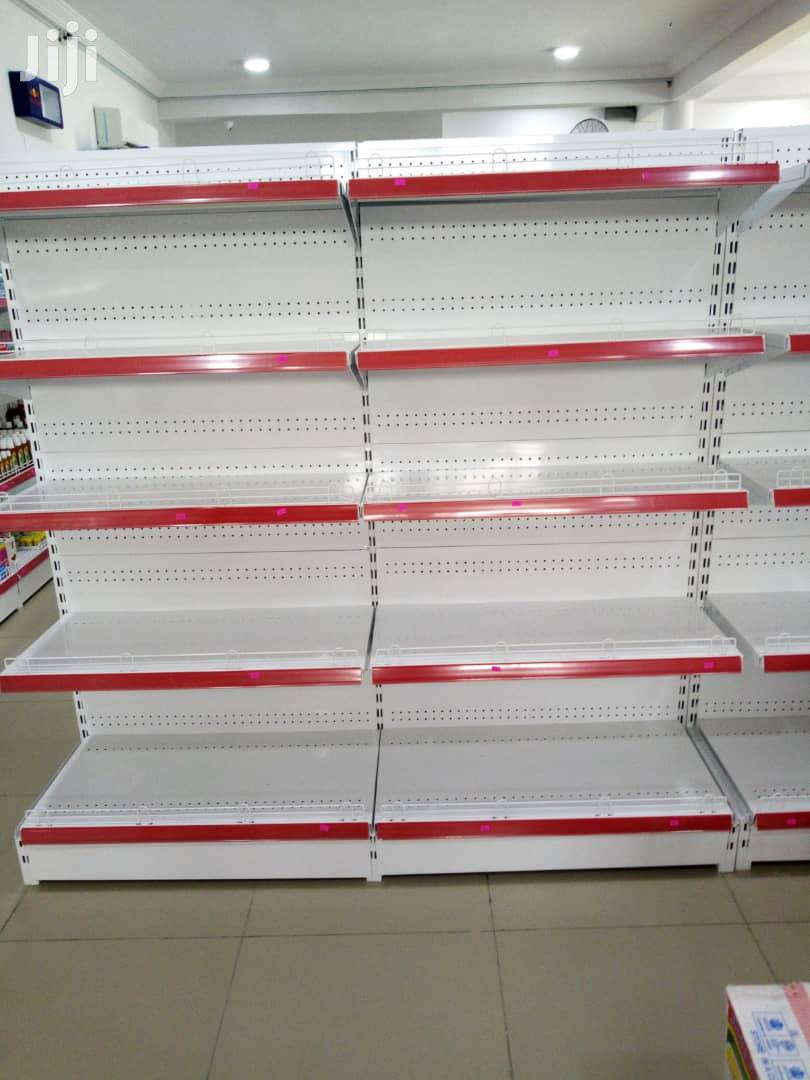 Give Away Price Brand New Single Sided Supermarket Display Shelves