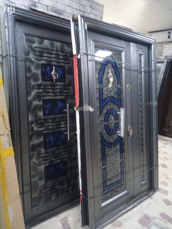 Entrance Turkey Blue Classic Door
