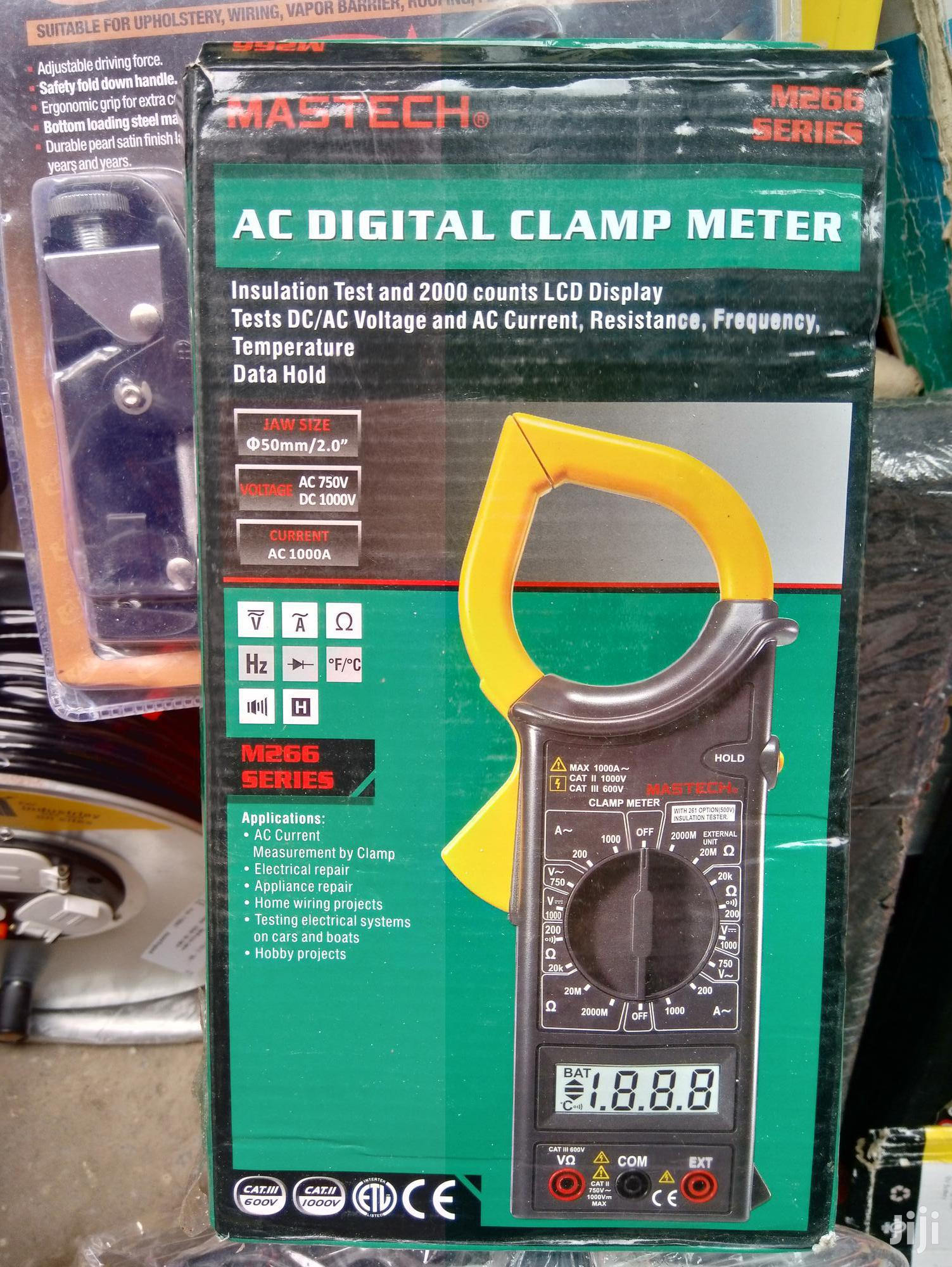 Ac Digital Clamp Meter Mastech