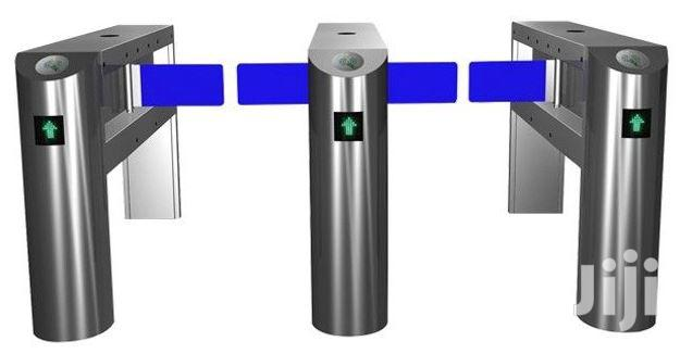 Full Automatic Swing Barrier Fast Speed Gate BY HIPHEN SOLUTIONS
