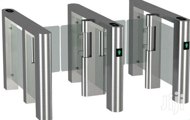 Automatic Swing Gate Bidirection IR Sensor Barrier Turnstile BY HIPHEN