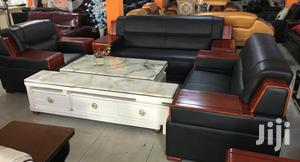 Quality 7-Seater Leather Sofa | Furniture for sale in Lagos State, Ikoyi