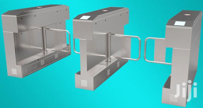 Indoor Auto Swing Gate Access Control Turnstile BY HIPHEN SOLUTIONS