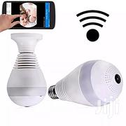 CCTV Wide Angle 360 Degree Bulb Camera   Security & Surveillance for sale in Lagos State, Ikoyi
