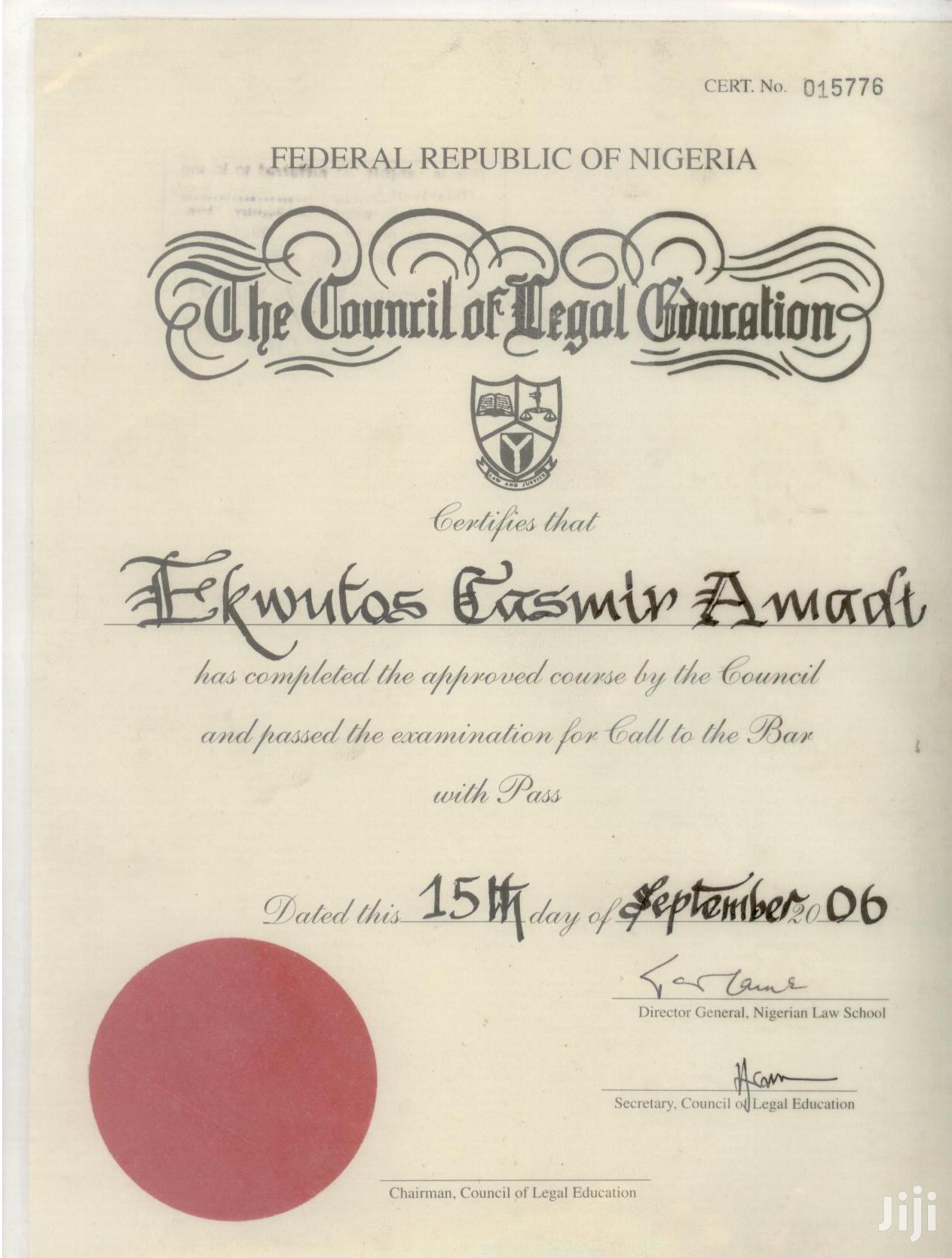 Legal Adviser/Company Secretary