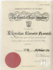 Legal Adviser/Company Secretary | Legal CVs for sale in Lagos State, Isolo