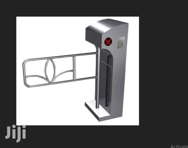 Swing Gate Turnstile Passage And Swing Barrier By Hiphen