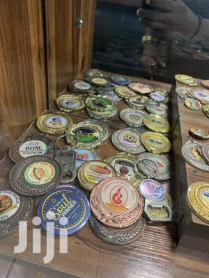 Award Medal With Print   Arts & Crafts for sale in Lagos State, Ifako-Ijaiye