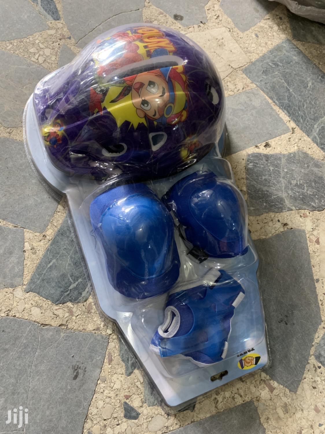 Cycling Helmet With Guard For Kids