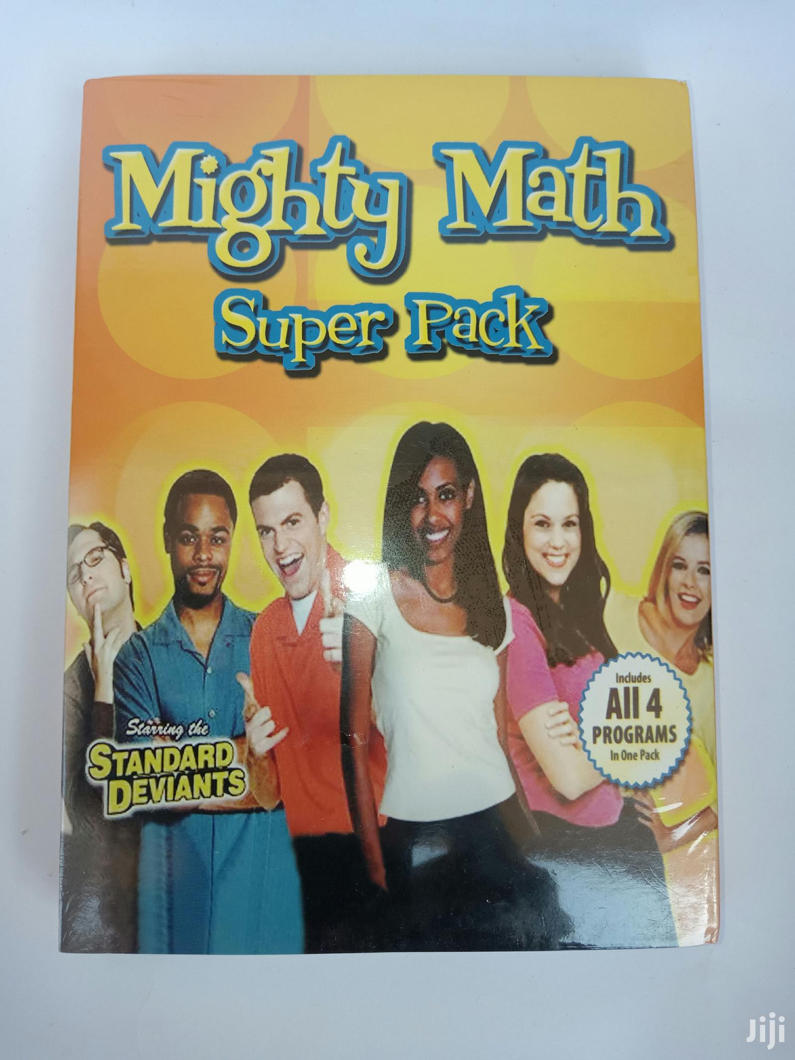 The Standard Deviants - Dvd Mighty Math Pack (FREE SHIPPING)