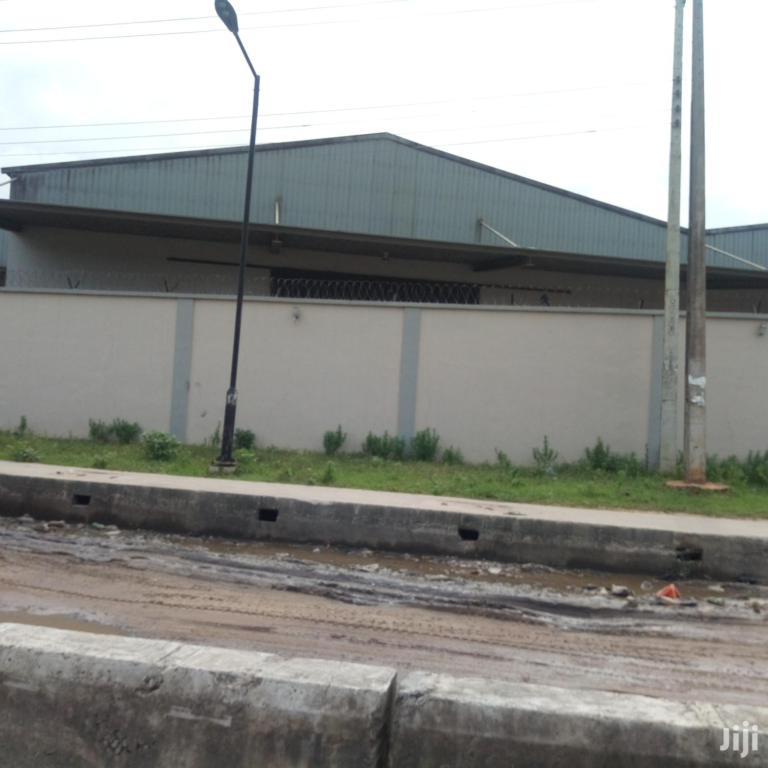 Archive: A Ware House In Abule Oshun Dansa Axis For Sale.