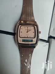 Casio Unisex Rose Gold Chain Wristwatch | Watches for sale in Lagos State, Surulere