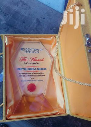 Presentable Award Crystal With Printing | Arts & Crafts for sale in Abuja (FCT) State, Wuse