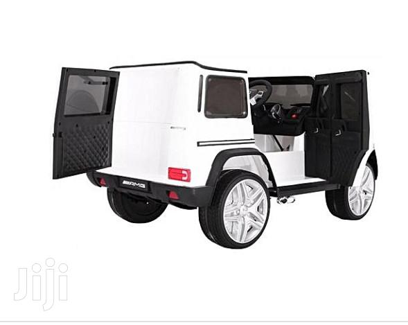 Mercedes Benz Latest 2019 Children Ride On Car Mercedes G65 (White) | Toys for sale in Asokoro, Abuja (FCT) State, Nigeria