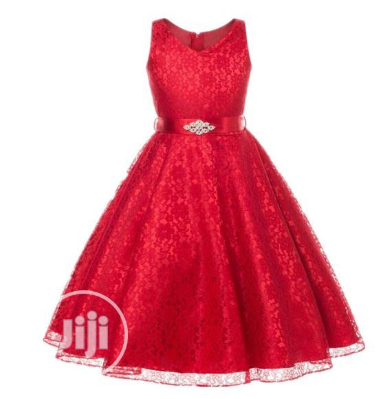 High Quality Girls Ball Gown Birthday/Party Dresses | Children's Clothing for sale in Amuwo-Odofin, Lagos State, Nigeria