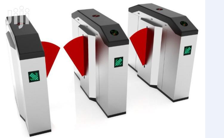 Flap Barrier Gate Turnstiles By Hiphen