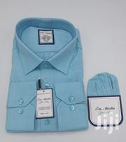 Plain Turquoise Blue Turkey Shirts by TM Martin | Clothing for sale in Lagos State, Lagos Island