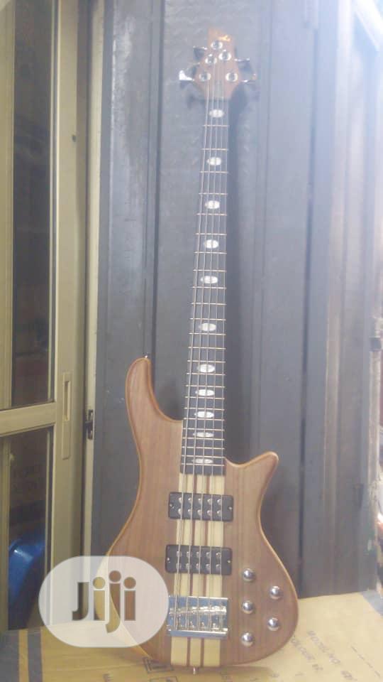 Archive: Fender 5 String Bass Guitar