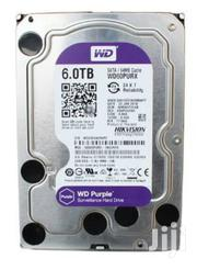 Western Digital Purple 6TB Surveillance SATA Internal Hard Drive   Computer Hardware for sale in Lagos State, Ikeja