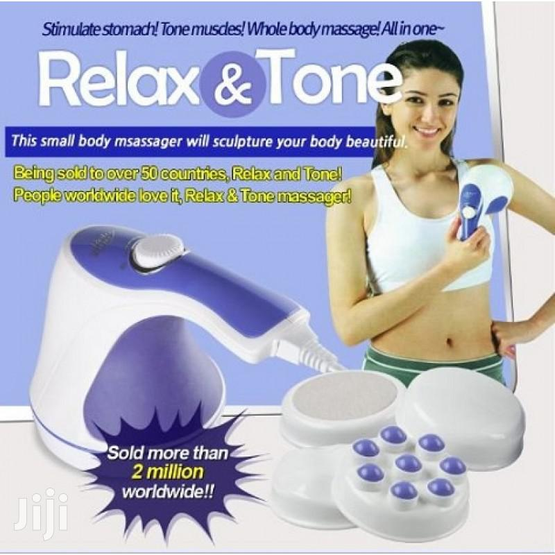 Archive: Professional Relax & Spin Tone Massager (White)