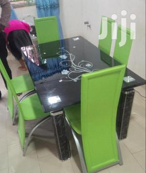 Glass Top Dining Table(005)   Furniture for sale in Lagos State, Lekki