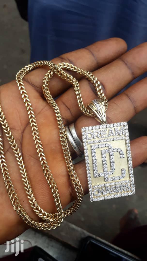 Gold(Dubai) Original Bracelet And Chain | Jewelry for sale in Lagos State, Nigeria