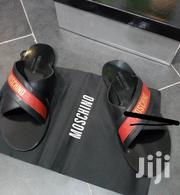 Moschino Italian Leather Slippers | Shoes for sale in Lagos State, Lagos Island