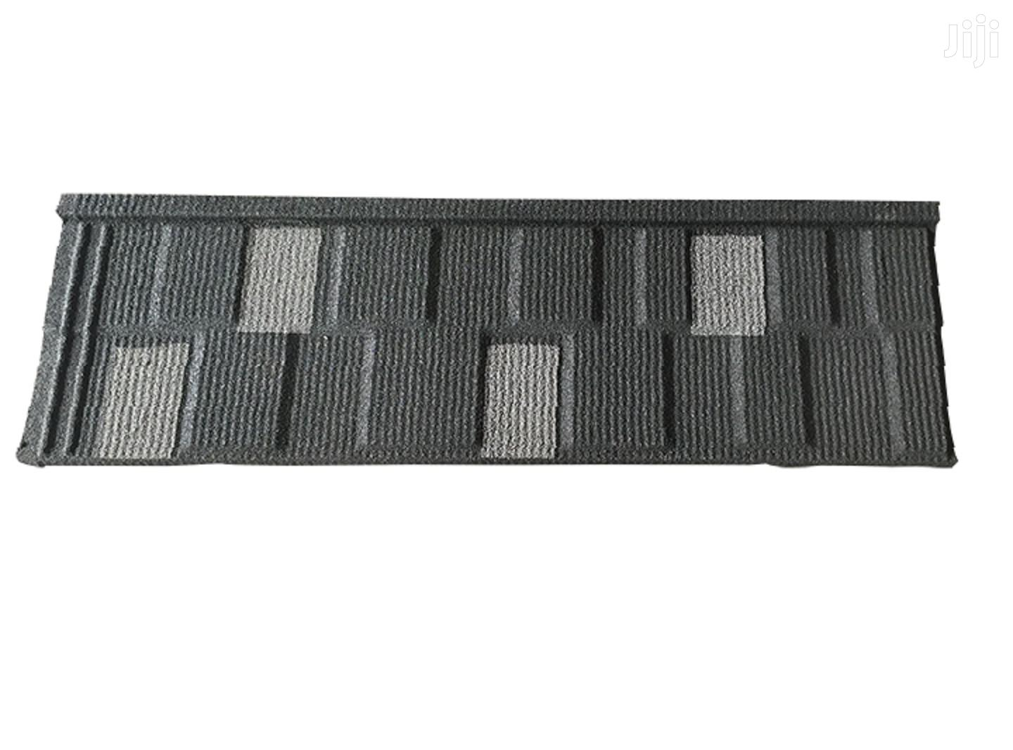 Black And White Shingle And Classic Stone Coated Roof Tiles