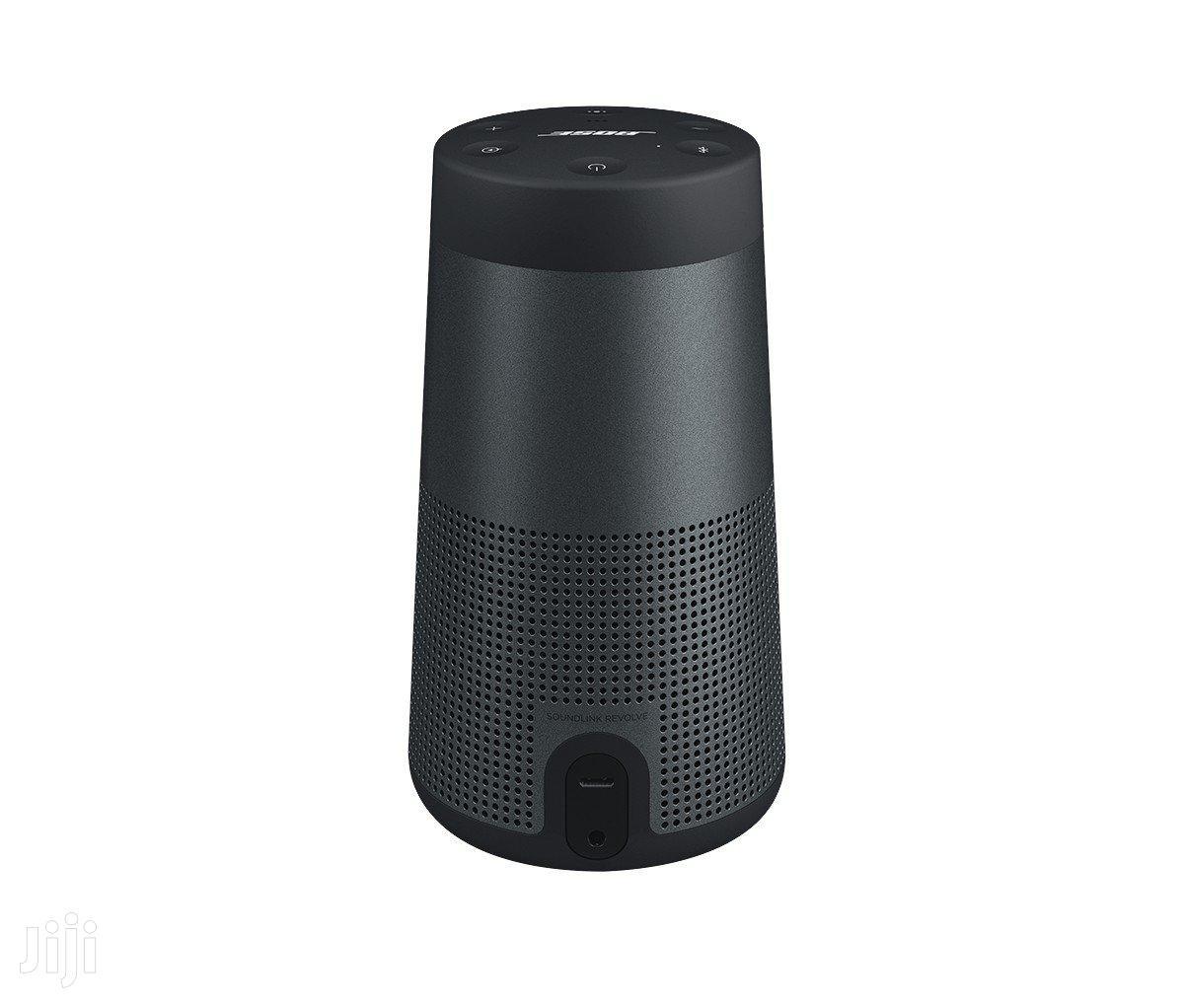 Bose Soundlink Revolve Wireless Speaker - Black | Audio & Music Equipment for sale in Ikeja, Lagos State, Nigeria