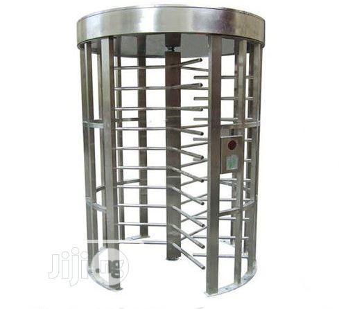 Full Height Security Turnstiles Gate With Card Reader BY HIPHEN