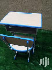 Adjustable Metal Desk and Chair Foe Sale | Furniture for sale in Lagos State, Ikeja