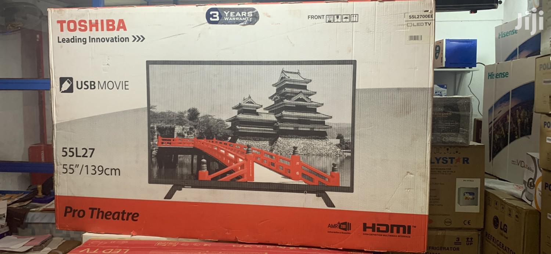 Toshiba 55-inch LED TV