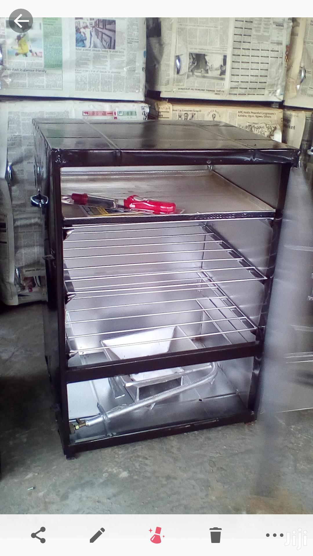 Easytech Enterprises Charcoal And Gas Oven