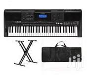 Yamaha PSR E463 Yamaha Keyboard With Stand, Bag And Adapter | Musical Instruments & Gear for sale in Enugu State, Enugu