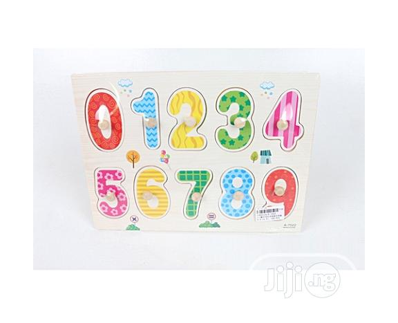 Archive: So'toys Numbers Wooden Puzzle