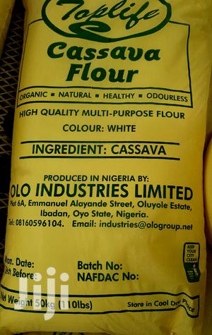 Toplife White Cassava Flour (50kg) | Meals & Drinks for sale in Oyo State, Ibadan