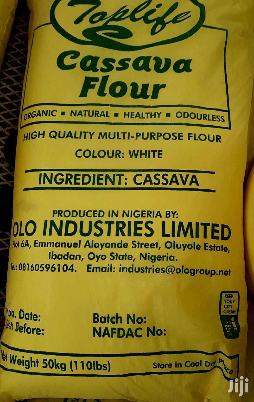 Toplife White Cassava Flour (50kg)