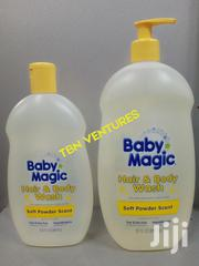 Baby Magic Hair & Body Wash Soft Powder Scent -488ml & 887ml | Baby & Child Care for sale in Lagos State