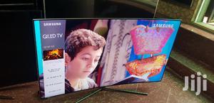 "Latest 55"" Ultra Slim Samsung QLED 4K CURVED Smart TV | TV & DVD Equipment for sale in Lagos State, Ojo"